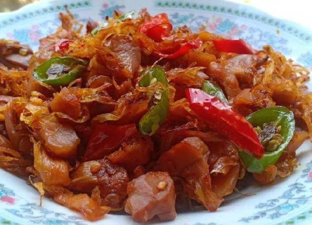 Makanan Khas Kalimantan Utara Manday