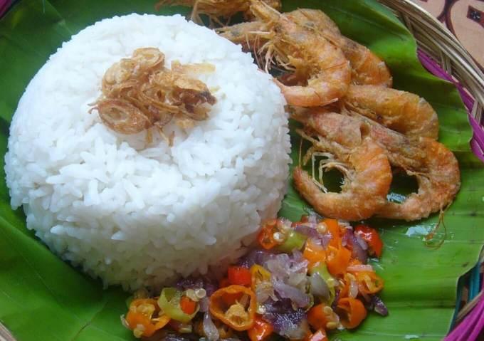 Nama Makanan Khas Kalimantan Utara Nasi Udang