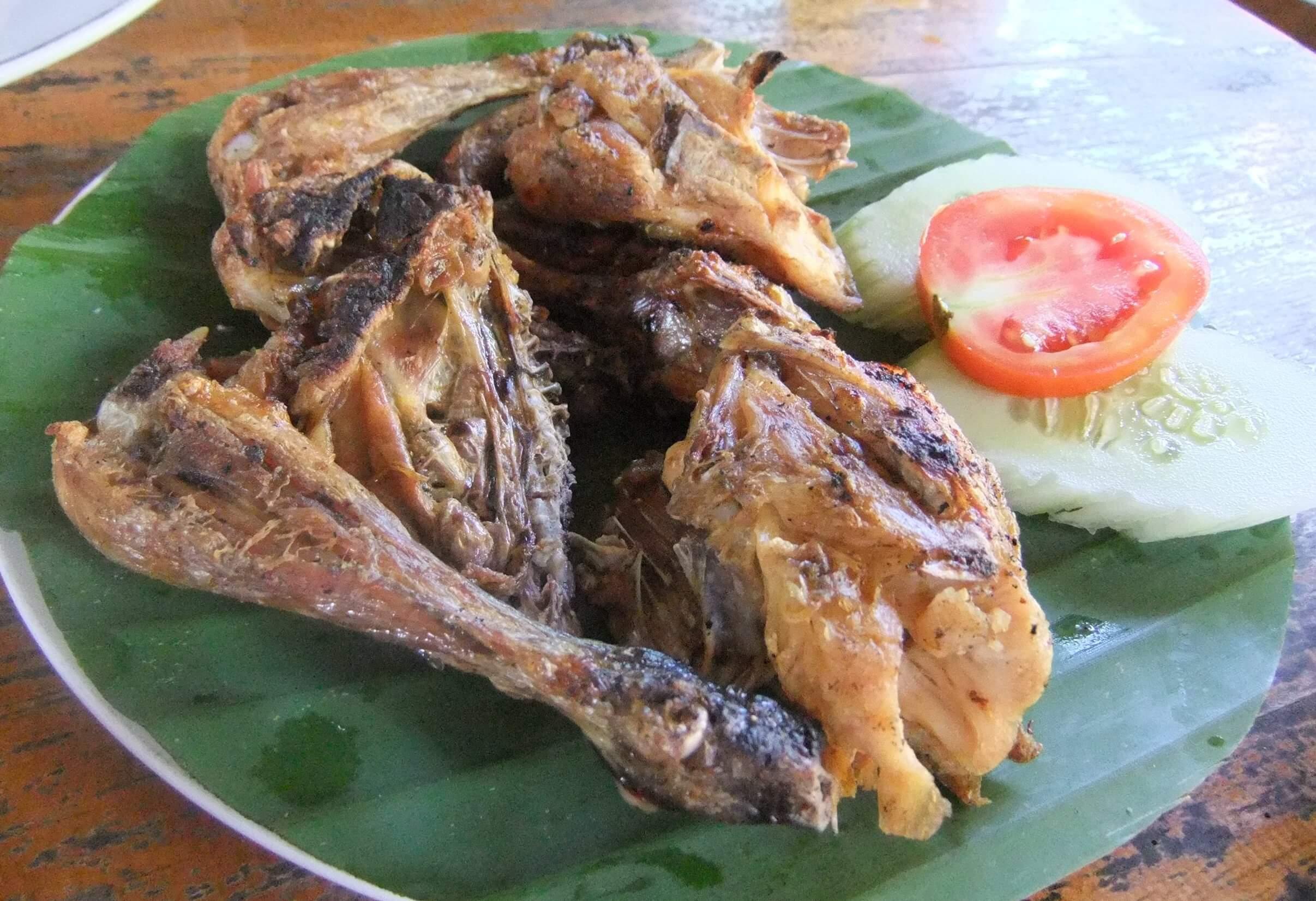 Makanan Khas Lombok Ayam Taliwang