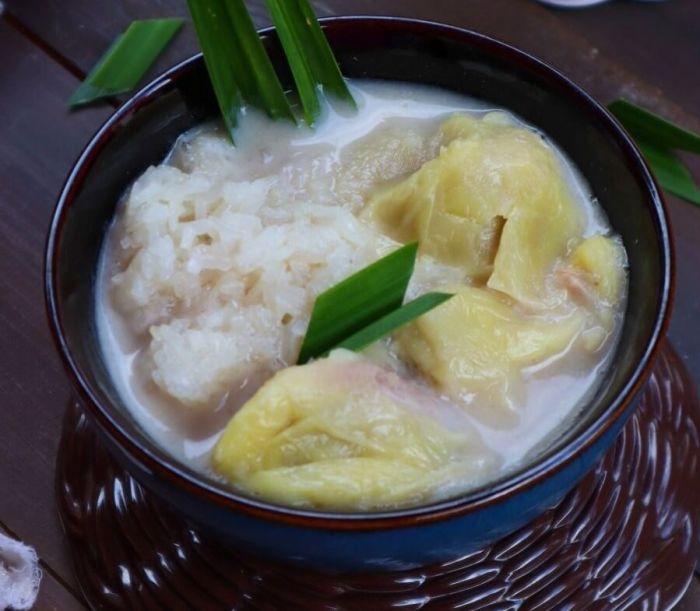 Makanan Khas Medan Kolak Durian