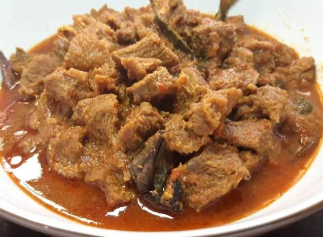 Makanan Khas Padang Cancang