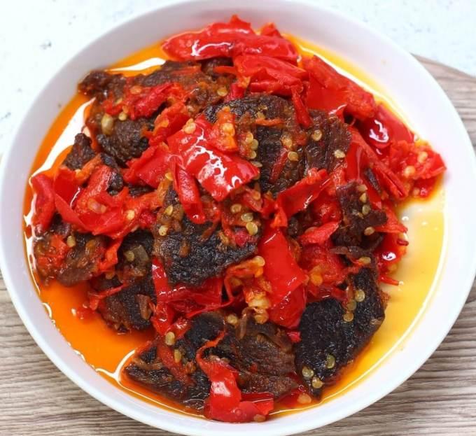 Makanan Khas Padang Dendeng Batokok