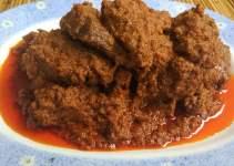 Makanan Khas Sumatera Barat Rendang Sapi