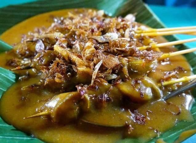 Makanan Khas Padang Sate Padang