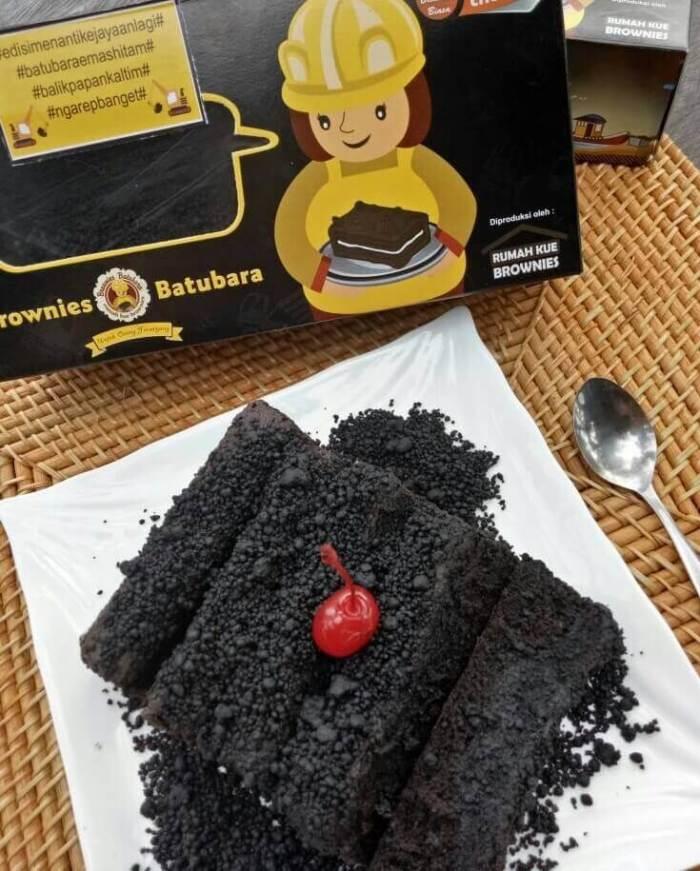 Makanan Khas Balikpapan Brownies Batu Bara
