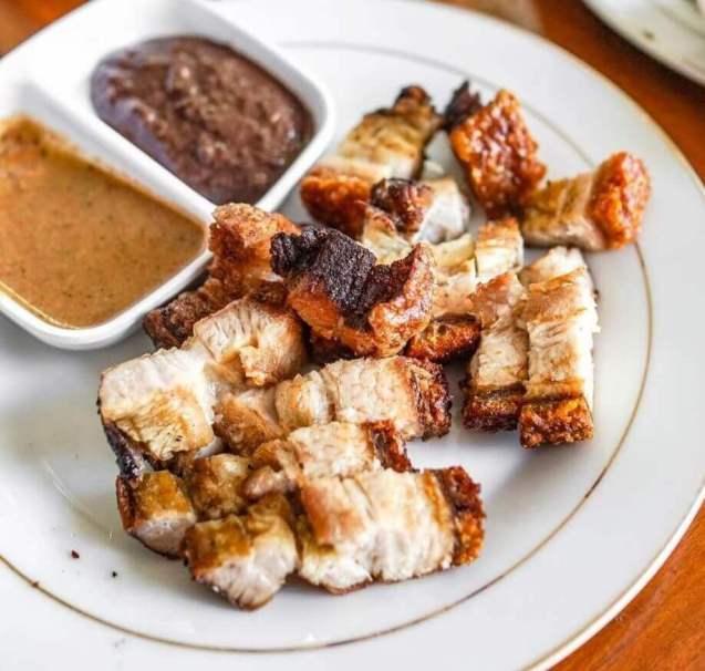 Nama Makanan Khas Batak dari daing Babi Panggang