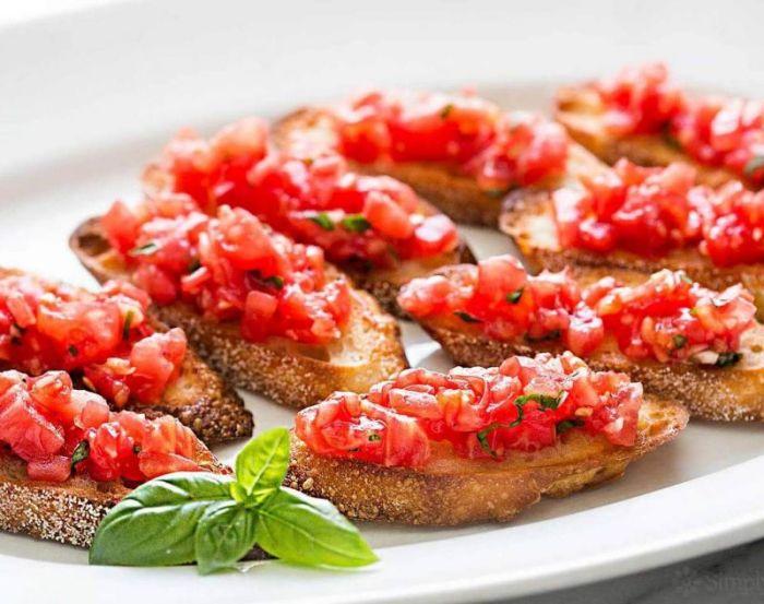 Makanan Khas Italia Bruschetta