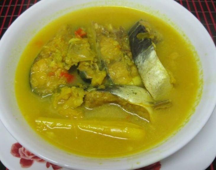 Makanan Khas Melayu Gulai Tempoyak