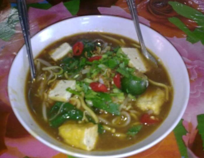 Resep Makanan Khas Melayu Soto Mak Lung Terkejut