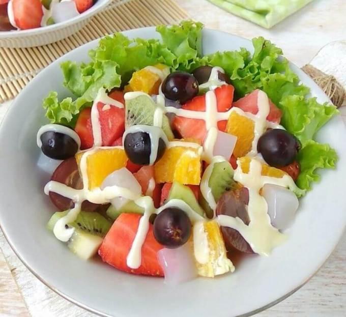 Resep Menu Buka Puasa Salad Buah