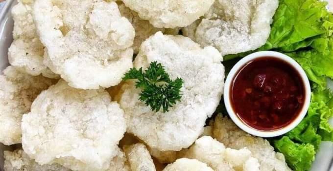 Resep Cireng Salju Bumbu Rujak