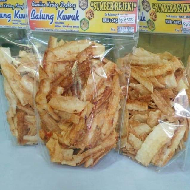 makanan khas bojonegoro balung kuwuk