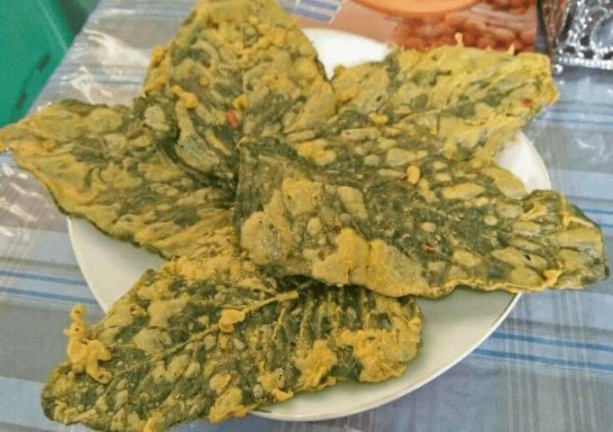 makanan khas bojonegoro keripik bayam