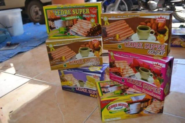 makanan khas bojonegoro ledre
