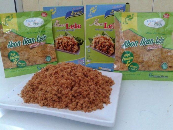 makanan khas boyolali abon lele