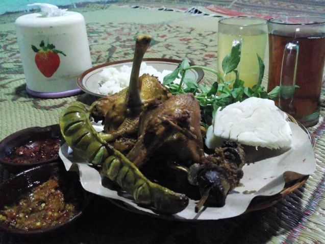 makanan khas boyolali bebek goreng