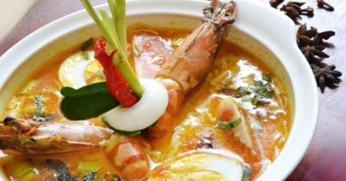makanan khas gule petih
