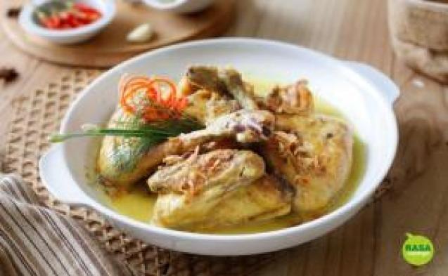 makanan khas jepara opor panggang