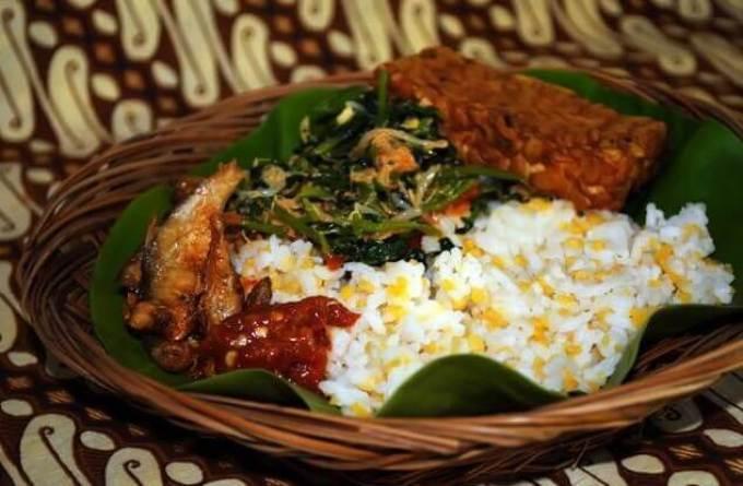 makanan khas probolinggo nasi glepung