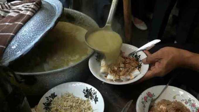 makanan khas probolinggo soto kraksan
