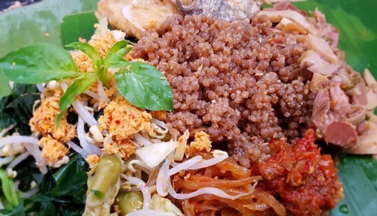 makanan khas trenggalek_nasi tiwul