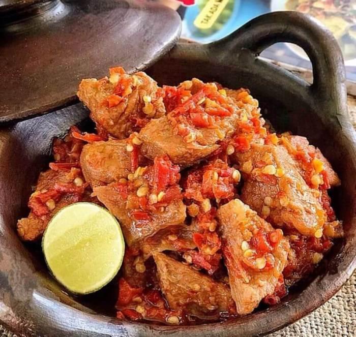 Bumbu Resep Ayam Balado Pedas Manis