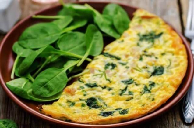Resep Masakan Sehat Omelet Bayam