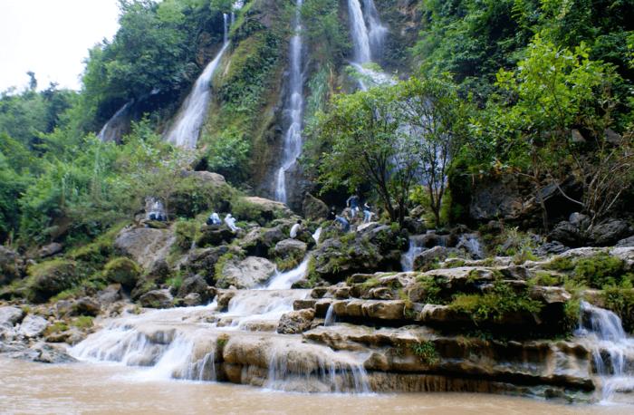 air terjun sri gethuk kabupaten gunung kidul daerah istimewa yogyakarta