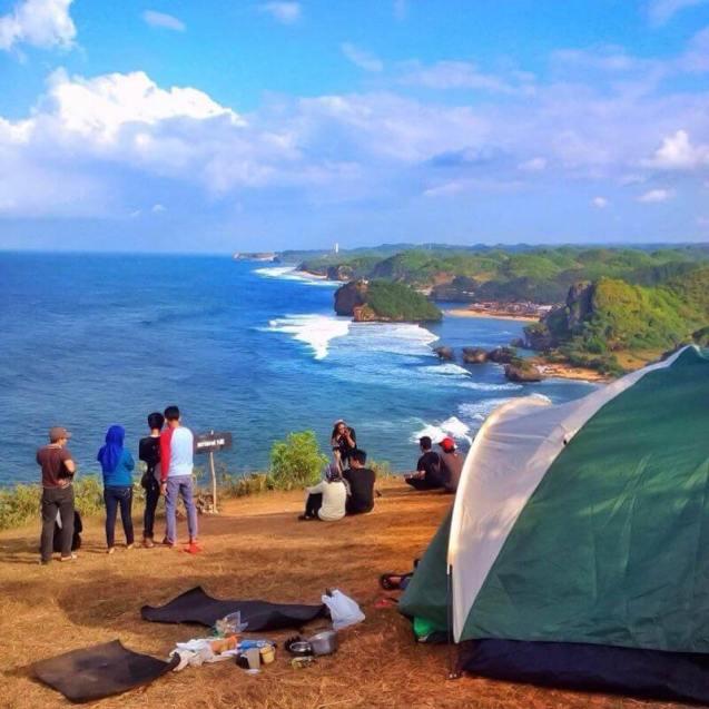 Camping Puncak Kosakora Yogyakarta