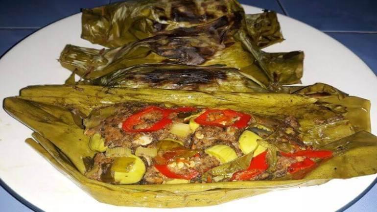 Nama Makanan Khas dari Karawang Pepes Oncom - Bosmeal.com