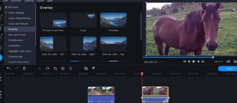 Aplikasi Edit Video PC Movavi Video Suite