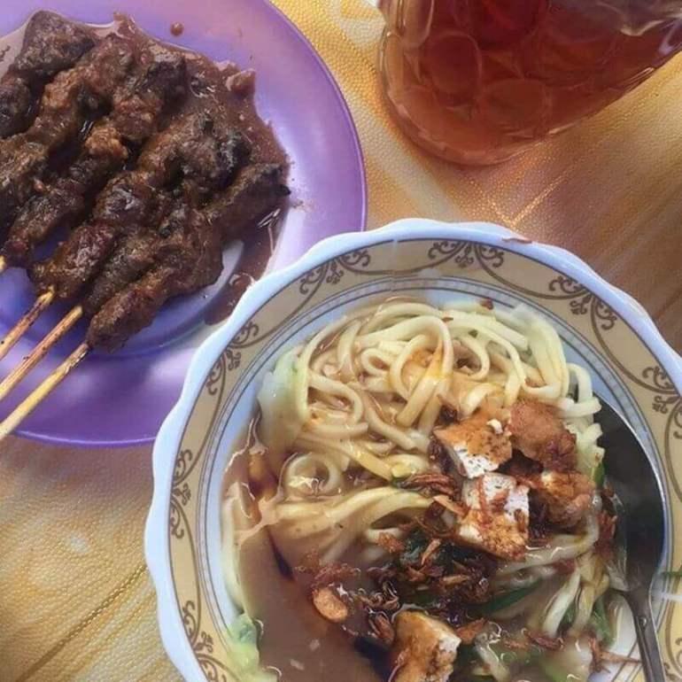 cara membuat mie ongklok makanan khas wonosobo dieng jawa tengah