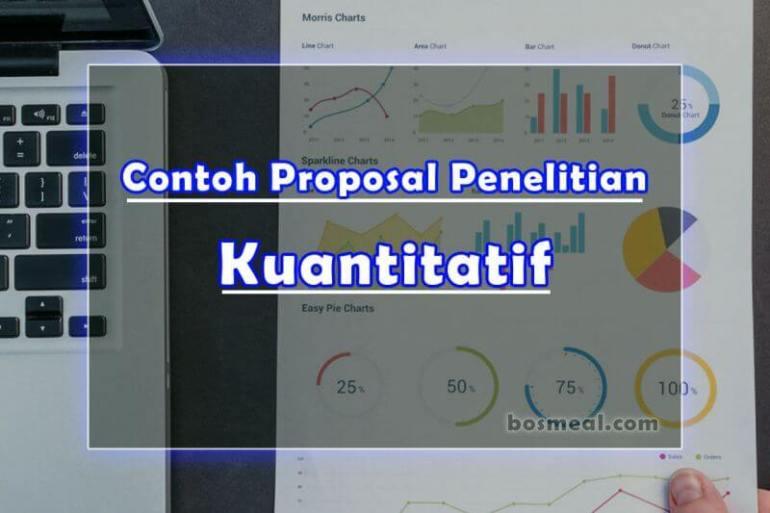 Contoh Proposal Penelitian Kuantitatif - Bosmeal.com