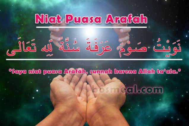 Niat Puasa Arafah
