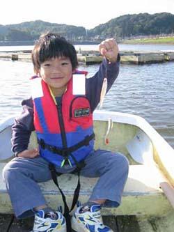 高滝湖のワカサギ釣り