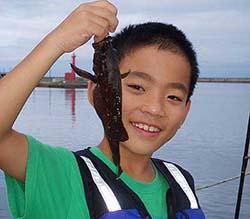 エゾメバル釣り