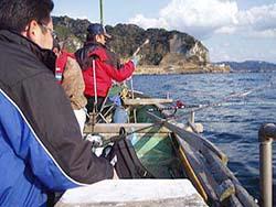 ボートシロギス釣り