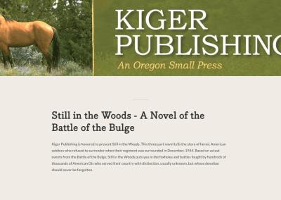 Kiger Publishing – Portland, Oregon