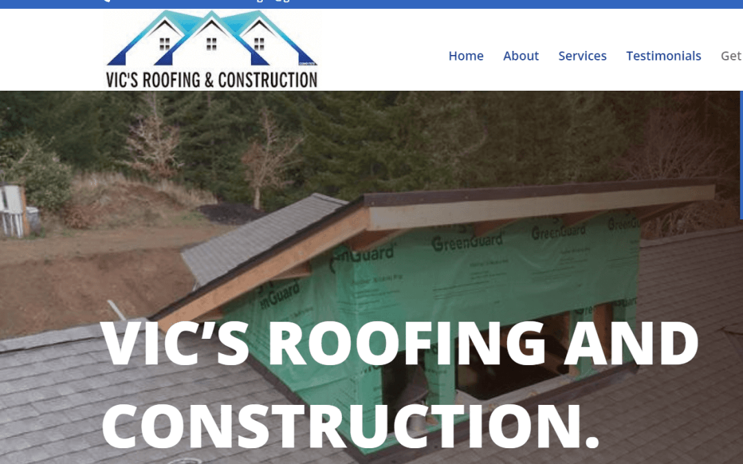 Vic's Roofing – Albany, Oregon