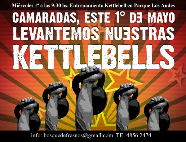 Entrenamiento Kettlebell para fortalecer cuerpo, mente y espíritu.