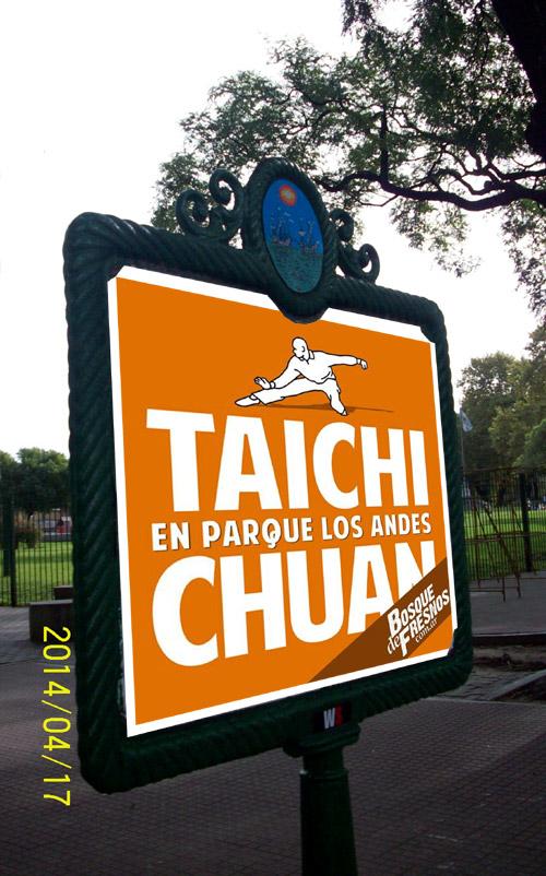 Tai Chi Chuan en Parque Los Andes. Chacarita, ciudad de buenos aires