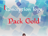 Conception logo : Pack Gold
