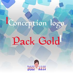 Conception logo Pack Gold par Boss Arts
