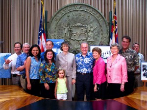 Hawaii Surfing Reserves Press Conference