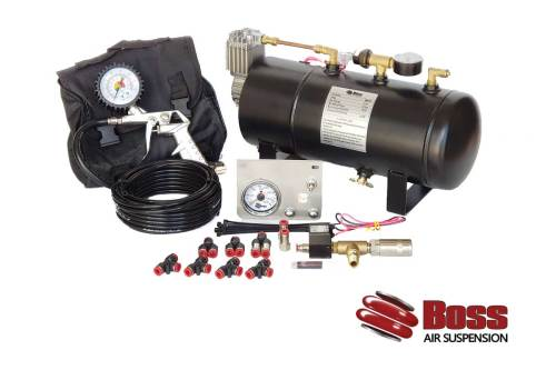 12v Compressor Tank and load assist kit combo