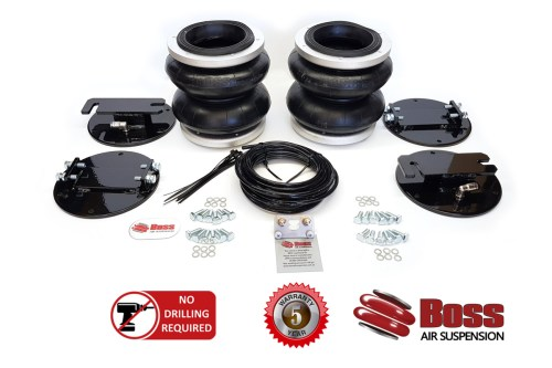Dodge Ram Coil Assist Airbag Kit