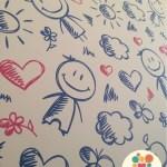 Papel de parede para decorar o quarto das crianças