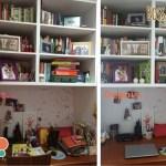 Antes e depois do meu cantinho preferido da casa com QCola