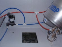 Double cabin - Hot Water system