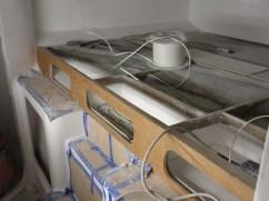 Main cabin - storage & wiring